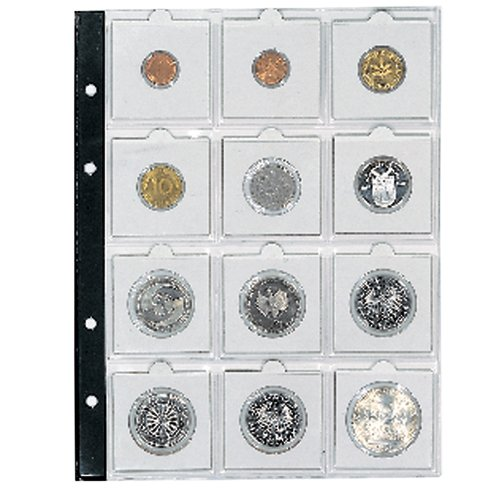 7855 Coin Page for 2x2 Holders
