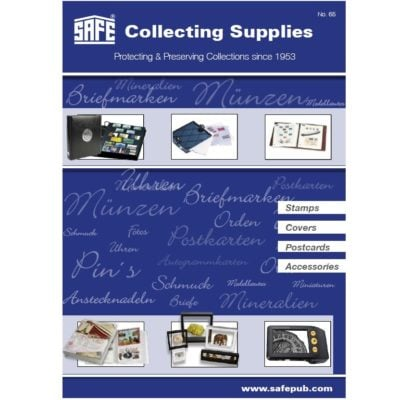 Stamp & Postcard Collecting Supplies Catalog #65