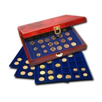 Wood Coin Display Boxes