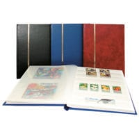 Stamp Collecting Albums - Stockbook - 16 White Pages - Tablet Format
