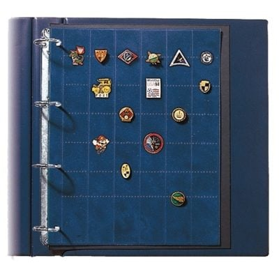 Pin Trading Book-Collecto Premium Album w/2 Straight Pin Pages