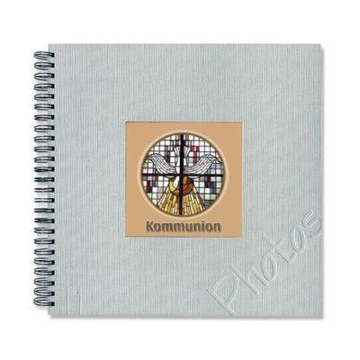 Communion Photo Album - Silver