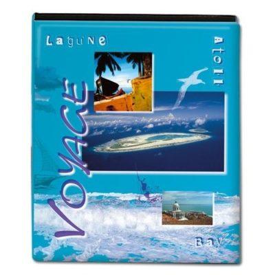 """""""Voyage"""" Travel Photo Album - Aqua"""