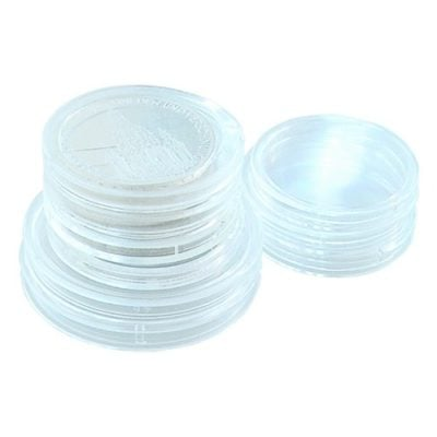 Air Tight Coin Capsules Direct Fit - Pack of 25