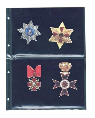 Velvet Page For Military Medals & Pins