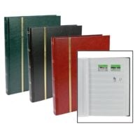 Stamp Albums Stock Books with 16 White Pages