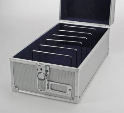 Postcard Box Aluminum without Handle For Stacking