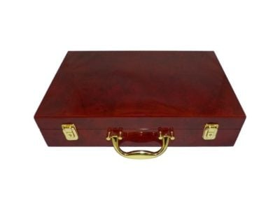 "Coin Case ""Executive"" Burlwood Carrying For Slabs"