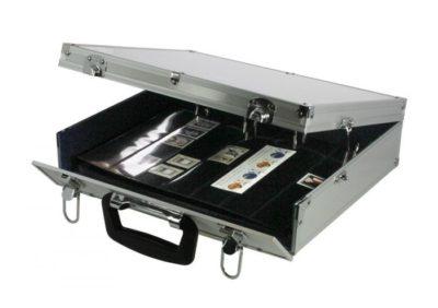 Collecto Aluminum Travel Briefcase Binder