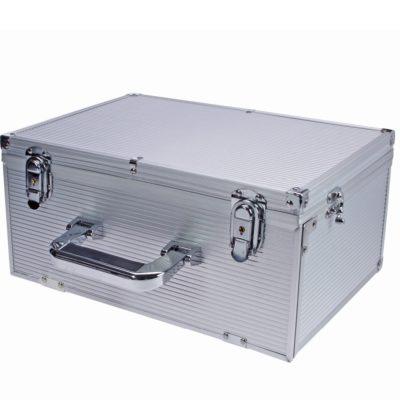 Coin Slab Box Aluminum Case For 80 Slabs