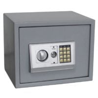 Steel Safe - Medium with Numeric Key Pad and Key