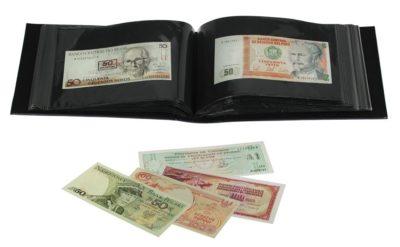 Mini Banknote Budget Album w/50 pages