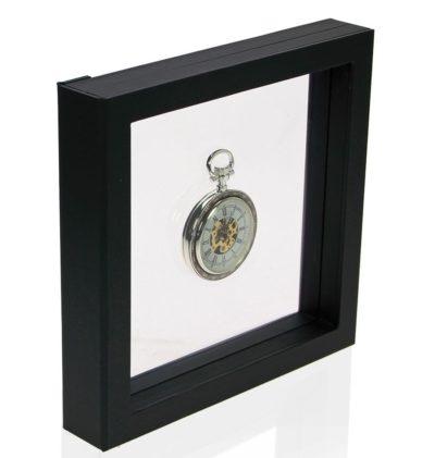 "Floating Frame for Pocket Watch 7"" x 7"""