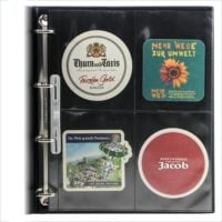 Collecto Transparent Page Per 10 For Coasters