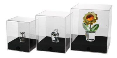 Transparent Acrylic Cube - Large