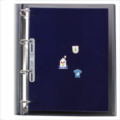 Aluminum Travel Briefcase for Pins