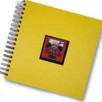"""Photo Album """"Pop"""" - Yellow"""