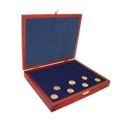 "Coin Case ""Elegance"" Wood - Customizable"