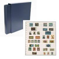 Classic Value 14-ring Stockbook-Navy Blue