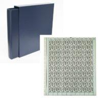 Classic Value 14-ring Mint Sheet Album-Navy Blue