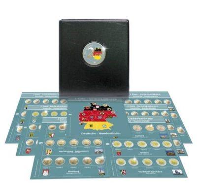 Premium Coin Album for 2Euro Bundeslander