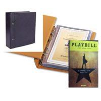 Compact Blue Album for Playbills