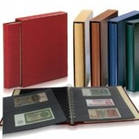 Currency Albums Professional Skai Handmade