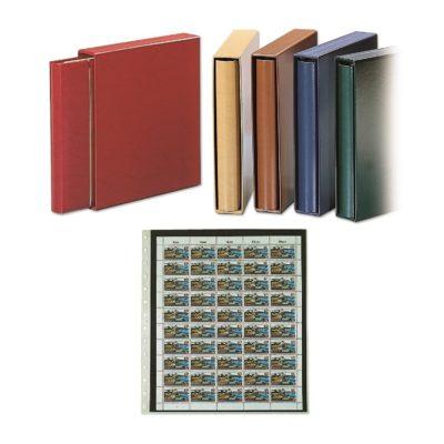 Premium Mint Sheet Album - Skai - Bordeaux Red