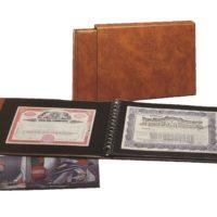 Stock & Bond Certificate Supplies