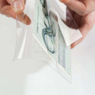Currency Sleeves Wraparound XL Mediumweight per 10