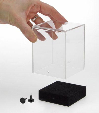 Transparent Acrylic Cube - Small