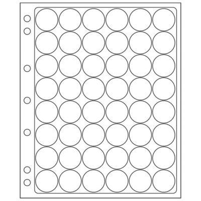 Coin Album for Quarters in Capsules - Black