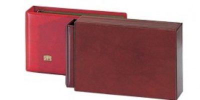 Mini Cover Album Slipcase Wine Red