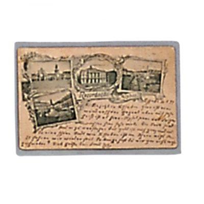 Postcard Sleeves Vintage Mediumweight-Side Open Pack of 50