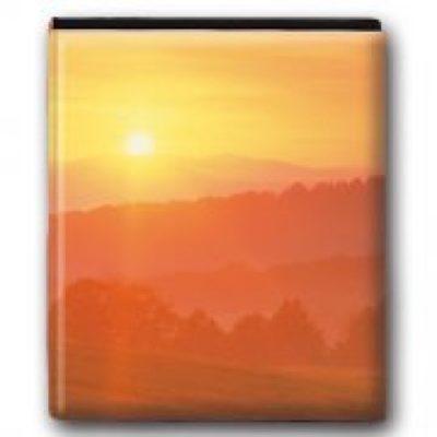 """""""Sunrise Memories"""" Travel Photo Album"""