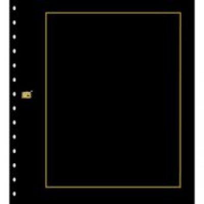 Photo Page Cardboard - Black per 10