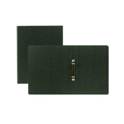 Black 2-Ring Binder Folder for Letter and A4 Size Paper