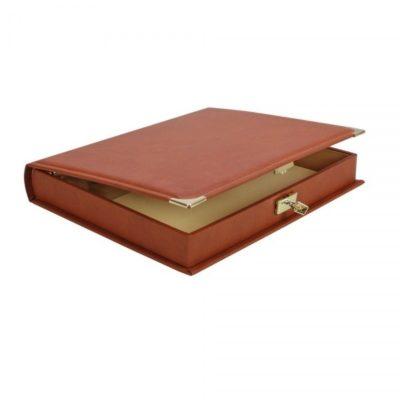 Collecto Slipcase Binder - Saddle Tan