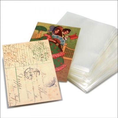 Postcard Holders Vintage per 100-Budget Polypropelene