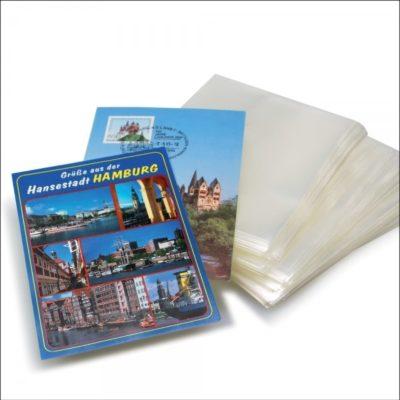 Postcard Holders Continental per 100-Budget Polypropelene