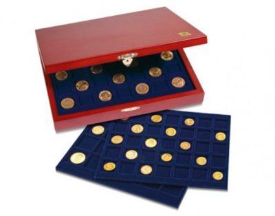 "Coin Case ""Elegance"" for Morgan Dollars"