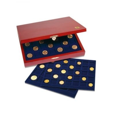 "Coin Case ""Elegance"" for Lincoln & Indian Head Cents / Pennies"