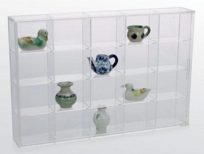 Miniature Figurine Display Case - Medium