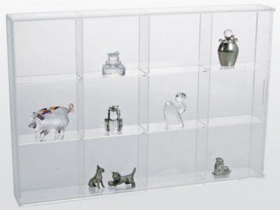 Miniature Figurine Display Case - Large
