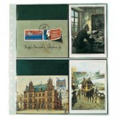 Postcard Page Per 10 - 4 Pockets