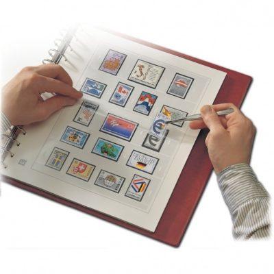 Stamp Albums Hingeless-West Germany Postcards 1949-2003