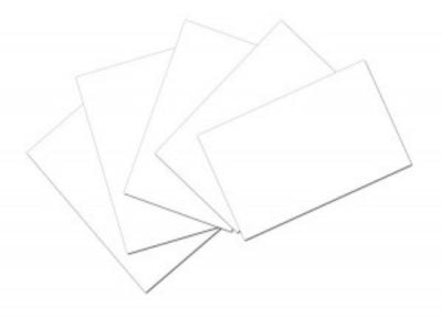 Index Cards For Cases