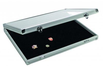 Pin Display Case Aluminum-Extra Large
