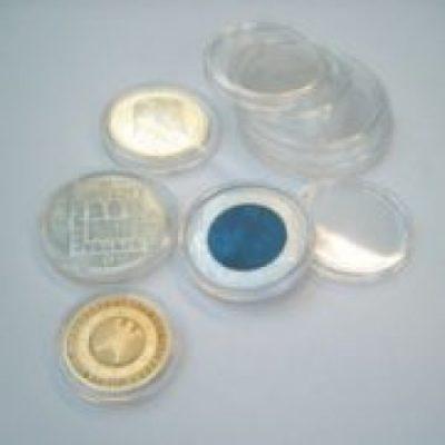 Air Tight Coin Capsules 40.0 mm