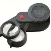 Folding Magnifier 3+6x Achromatic